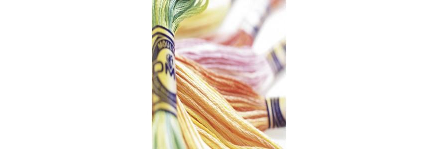 Mouliné Color Variations