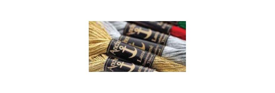 Anchor Metallic Threads Lamè