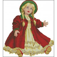 45.507 Green Hat Doll