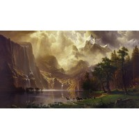A.Bierstadt -Sierra Nevada