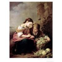 B. E Murillo-Fruit Seller