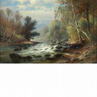 C. P. Weber - Mountain Stream
