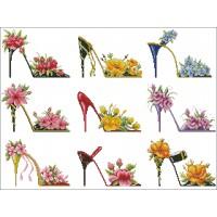 Flowery Shoes Sampler