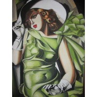 Dama in Verde