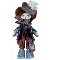 Sewing dolls-Actress