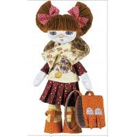 Sewing dolls-First Grader Girl