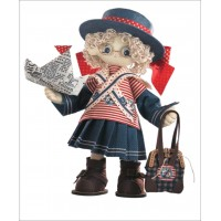 Sewing dolls-Becky